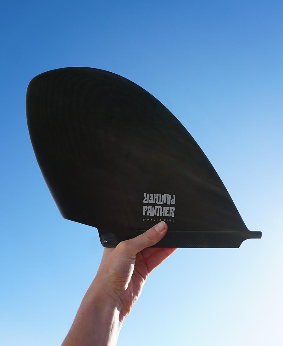 surfboard single fin macho fins panther surfboards
