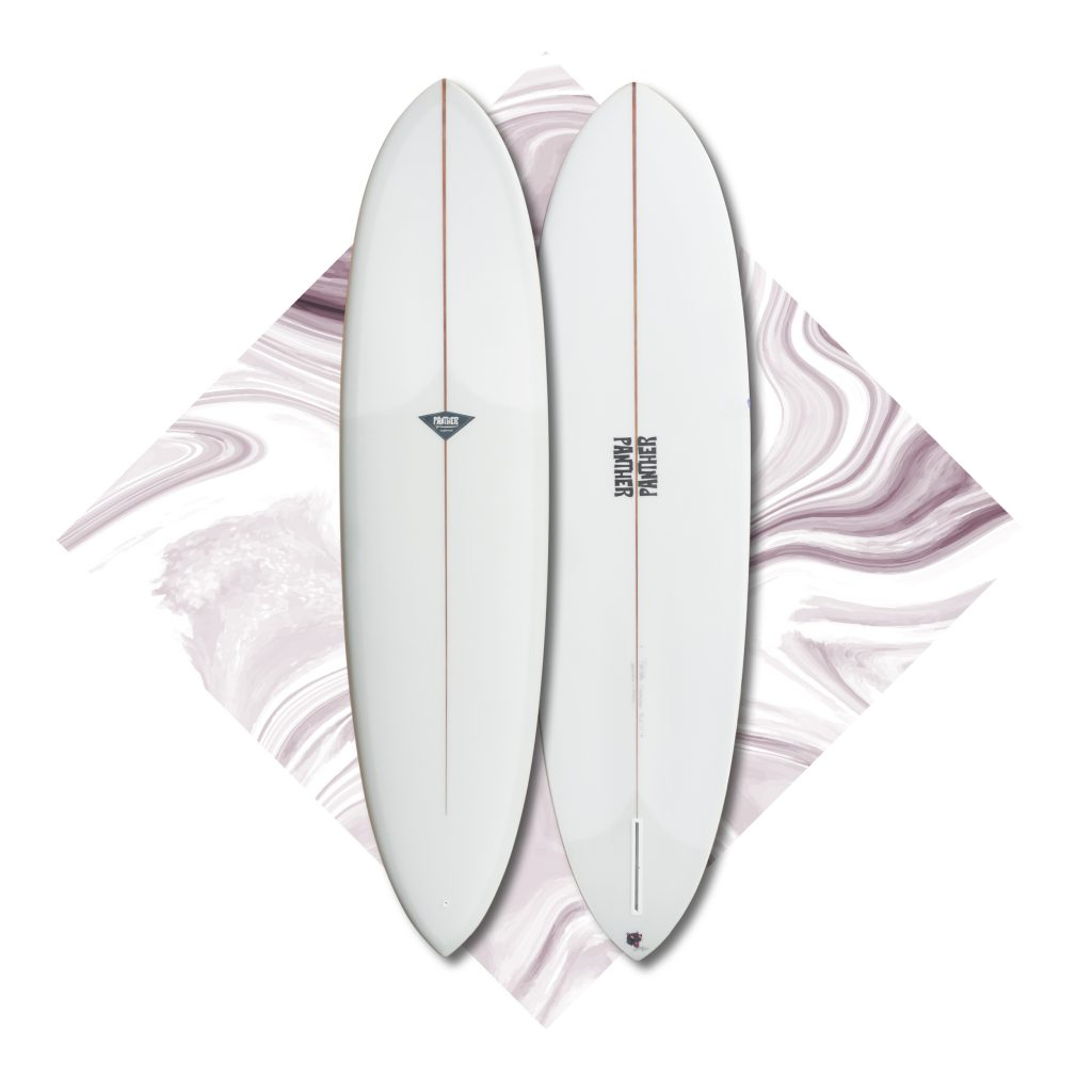 midlength surfboard egg flextail