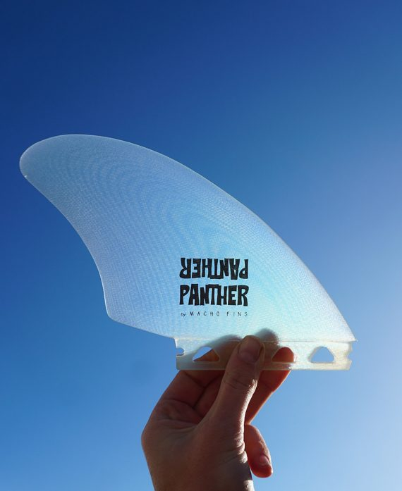 surfboard twin fin macho fins panther surfboards
