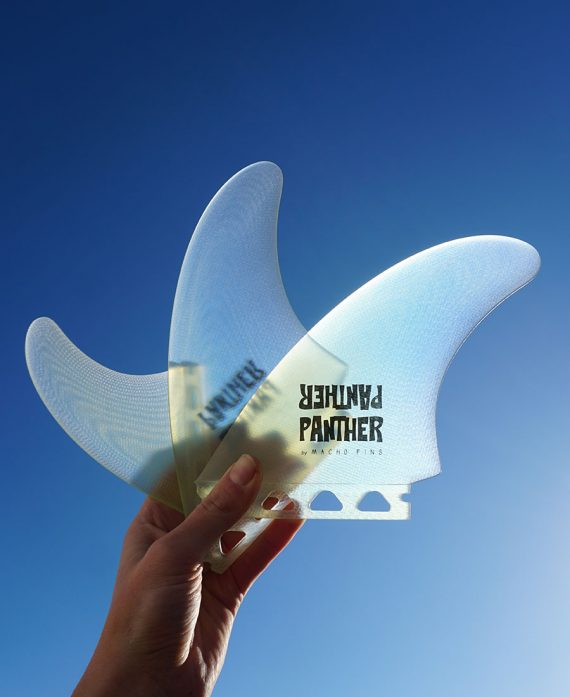 surfboard fin macho fins panther surfboards