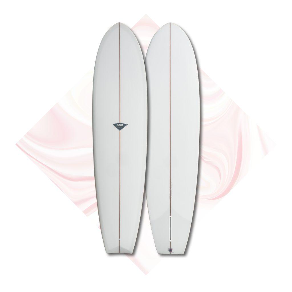 v bottom midlength surfboards